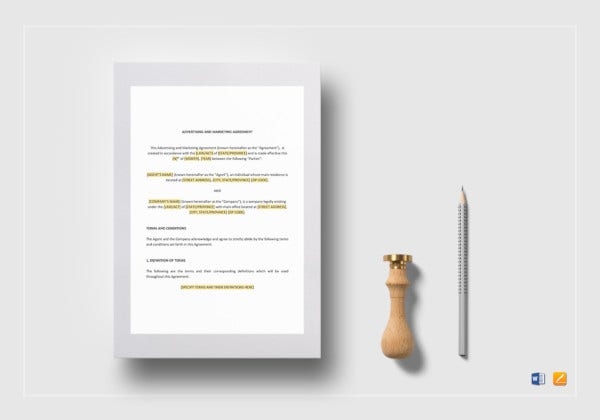 advertising-and-marketing-agreement-template