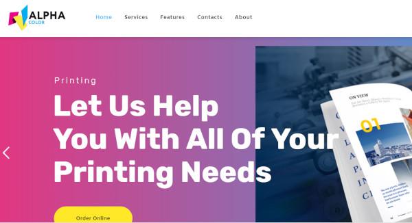 alphacolor woo commerce integration wordpress theme