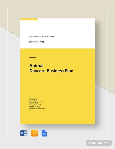 Daycare Business Plan - 8+ Free Word, PDF Documents Download | Free