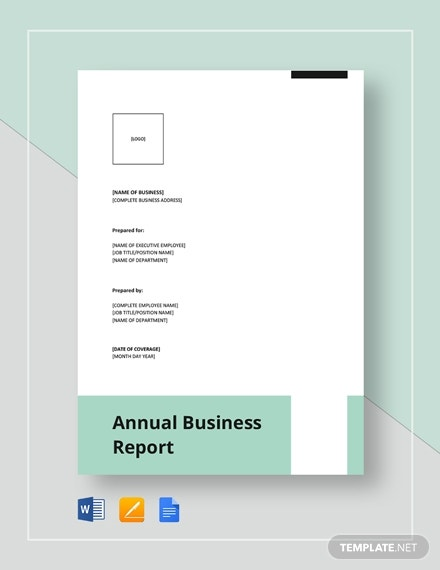 annual business report 4