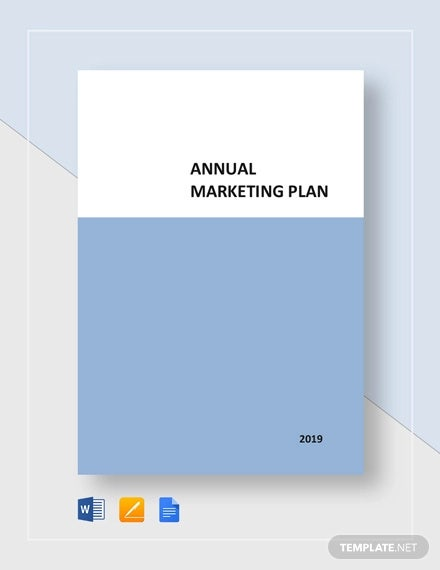 annual marketing plan template1