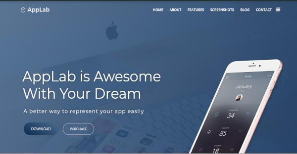 AppLab - AJAX WordPress Theme