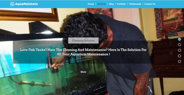 Aqua Maintain – Customizable WordPress Theme