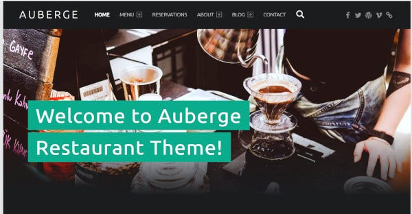 auberge plus – seo friendly wordpress theme