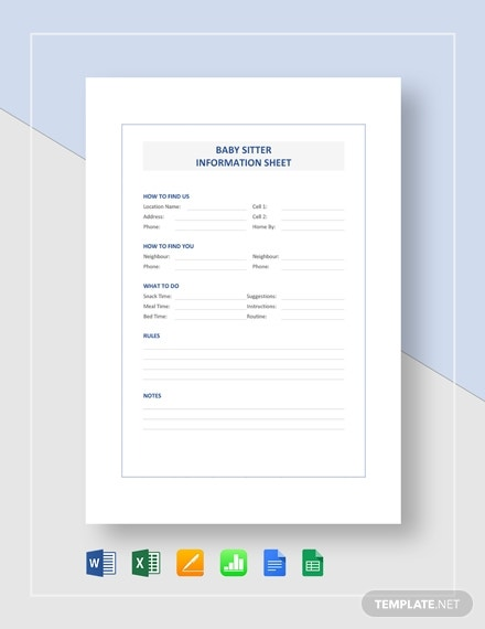 8 Client Information Sheet Templates Pdf Ms Word Apple Pages Free Premium Templates