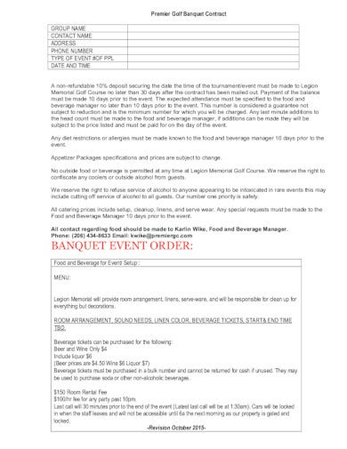 banquet event order format in pdf
