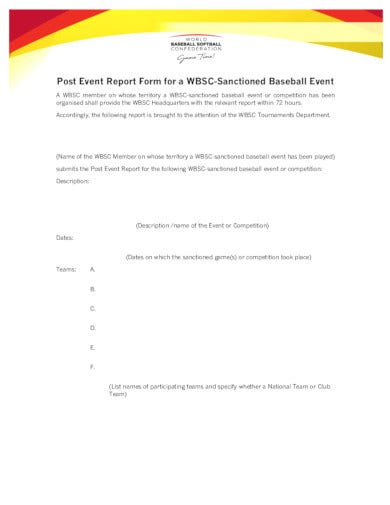 baseball-post-event-report-form
