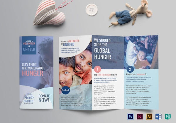 basic charity brochure template
