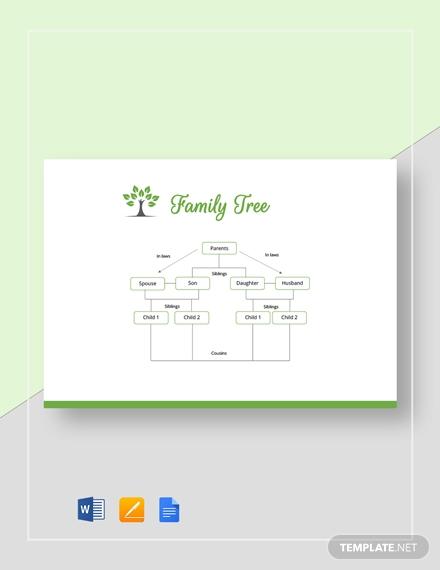8  family genogram templates