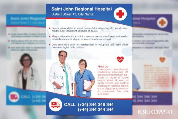 basic hospital poster example