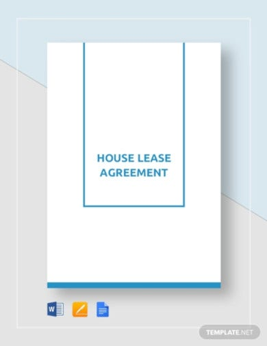 basic house tenant agreement template