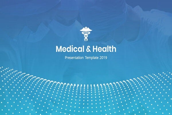 basic medical and health powerpoint template