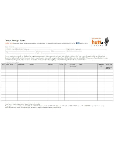 basic non profit invoice template