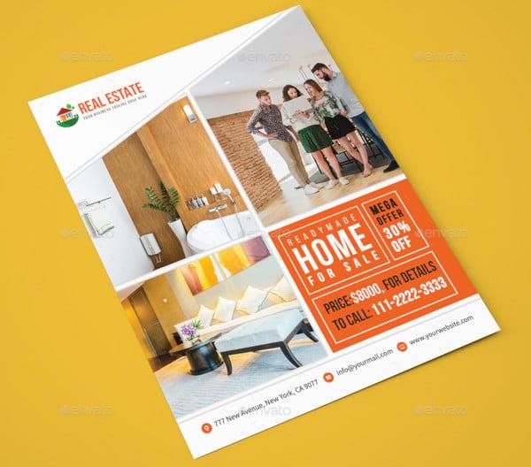 basic real estate for sales flyer