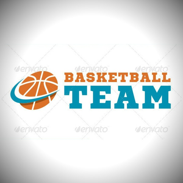 basketball team sports logo sample