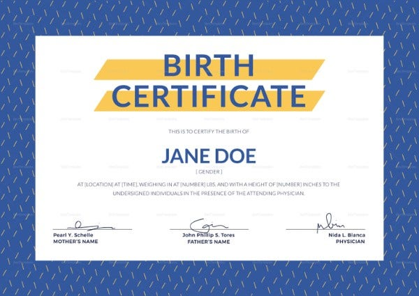 birth certificate format 759x537