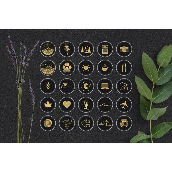 black-gold-travel-story-highlight-icons-sample