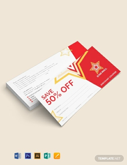 blank restaurant breakfast coupon template