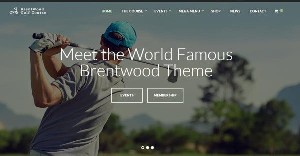 brentwood – one click demo installer wordpress theme