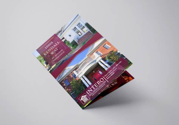 brochure design for real estate agent