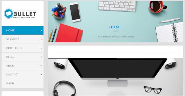 Bullet - Essential Grid plugin WordPress Theme