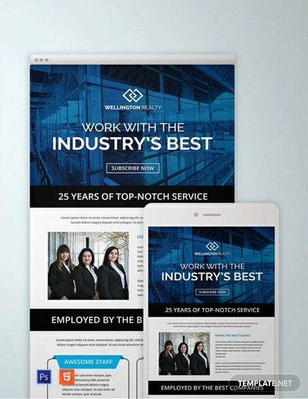 business email newsletter template1