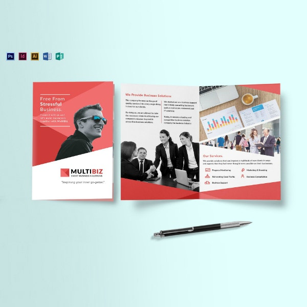 business employee recruitment brochure example