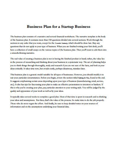 business-plan-startup-template
