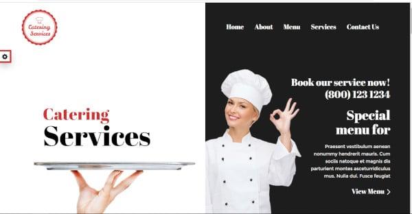 chef – 8 color variations wordpress theme