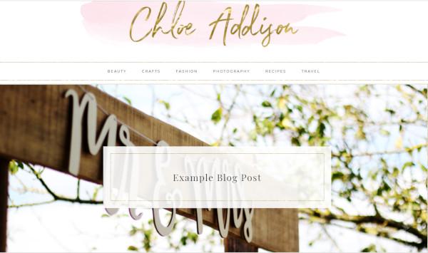 chloe 3 column footers wordpress theme