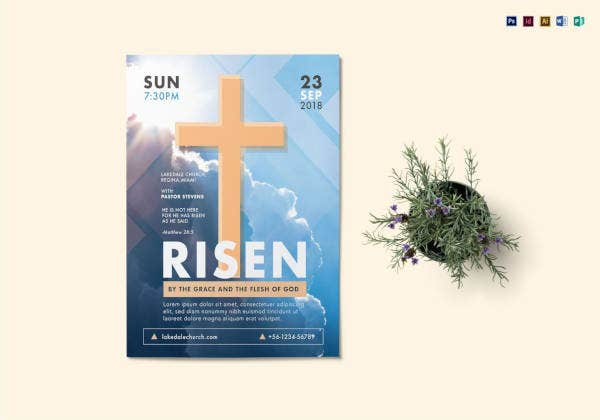 church-flyer-template