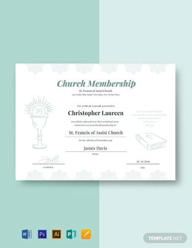 church-membership-certificate-template