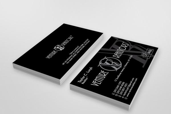 classic realtor business card