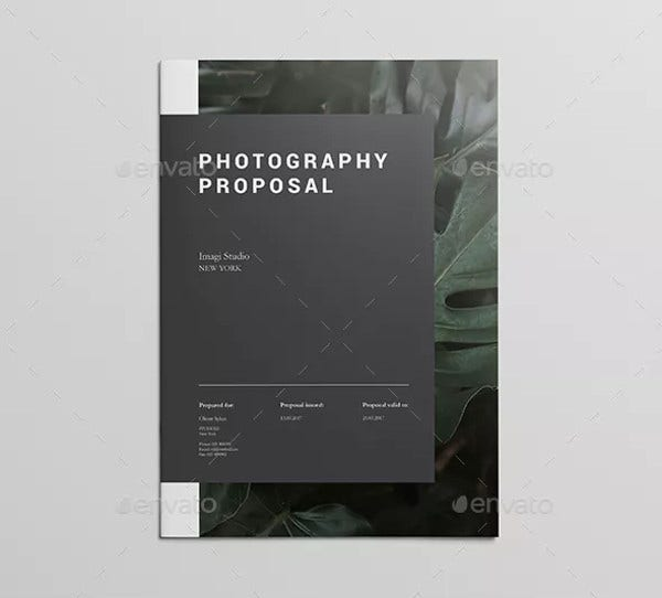 classy event photography proposal template1