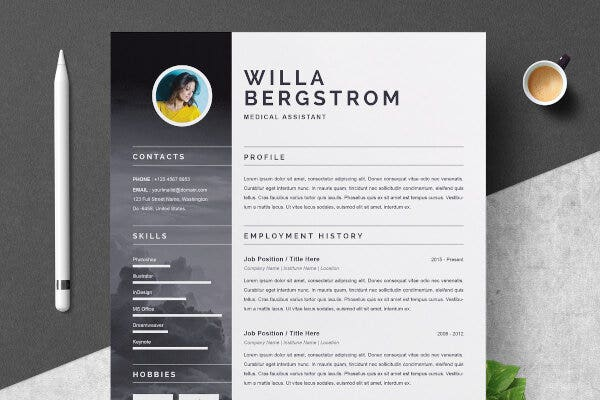 Best Resume Template For Medical
