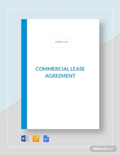 commercial lease tenant agreement template