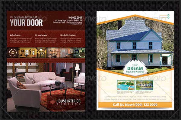 commercial real estate advertising flyer