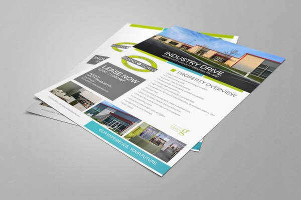 commercial real estate flyer