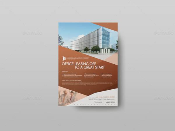 commercial real estate property flyer
