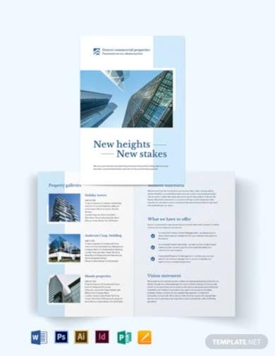 commercial-realestate-bi-fold-brochure