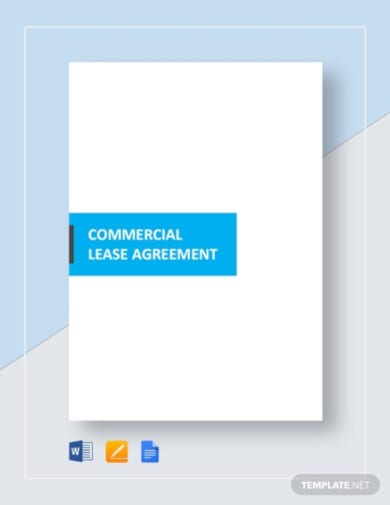commercial tenant agreement template