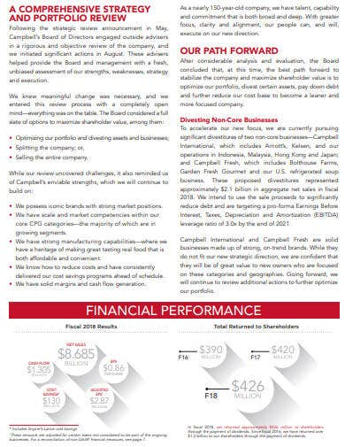 company annual report example