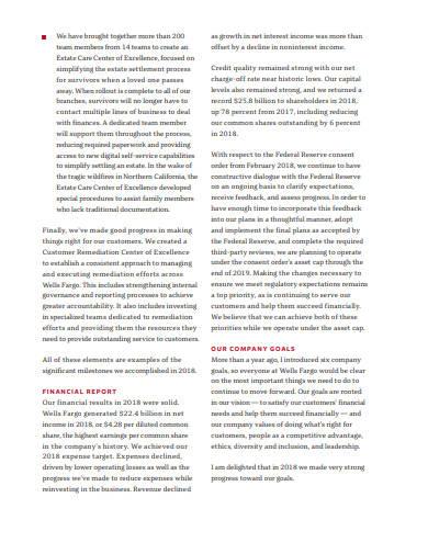 company annual report in pdf