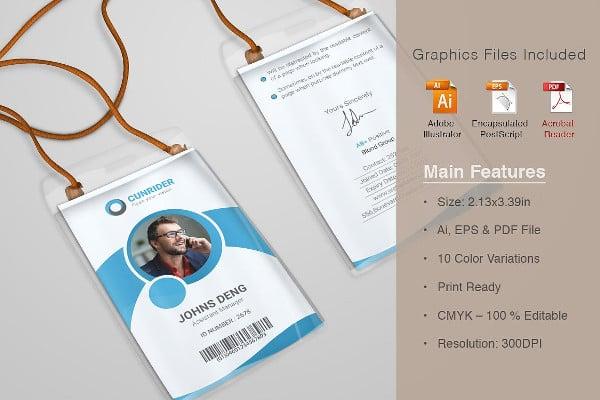 company card card in pdf