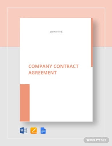 company contract agreement template1