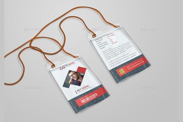company executive id card