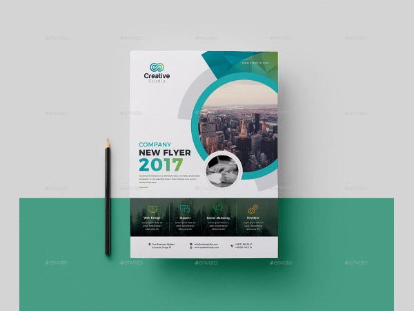 company flyer example