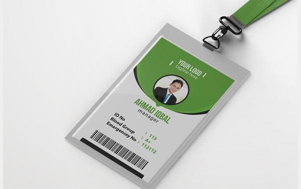 company office id card