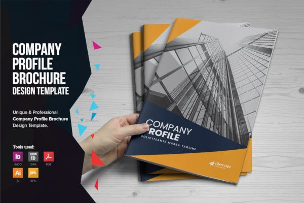 company profile brochure template1