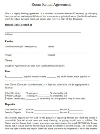 concise landlord tenant agreement template